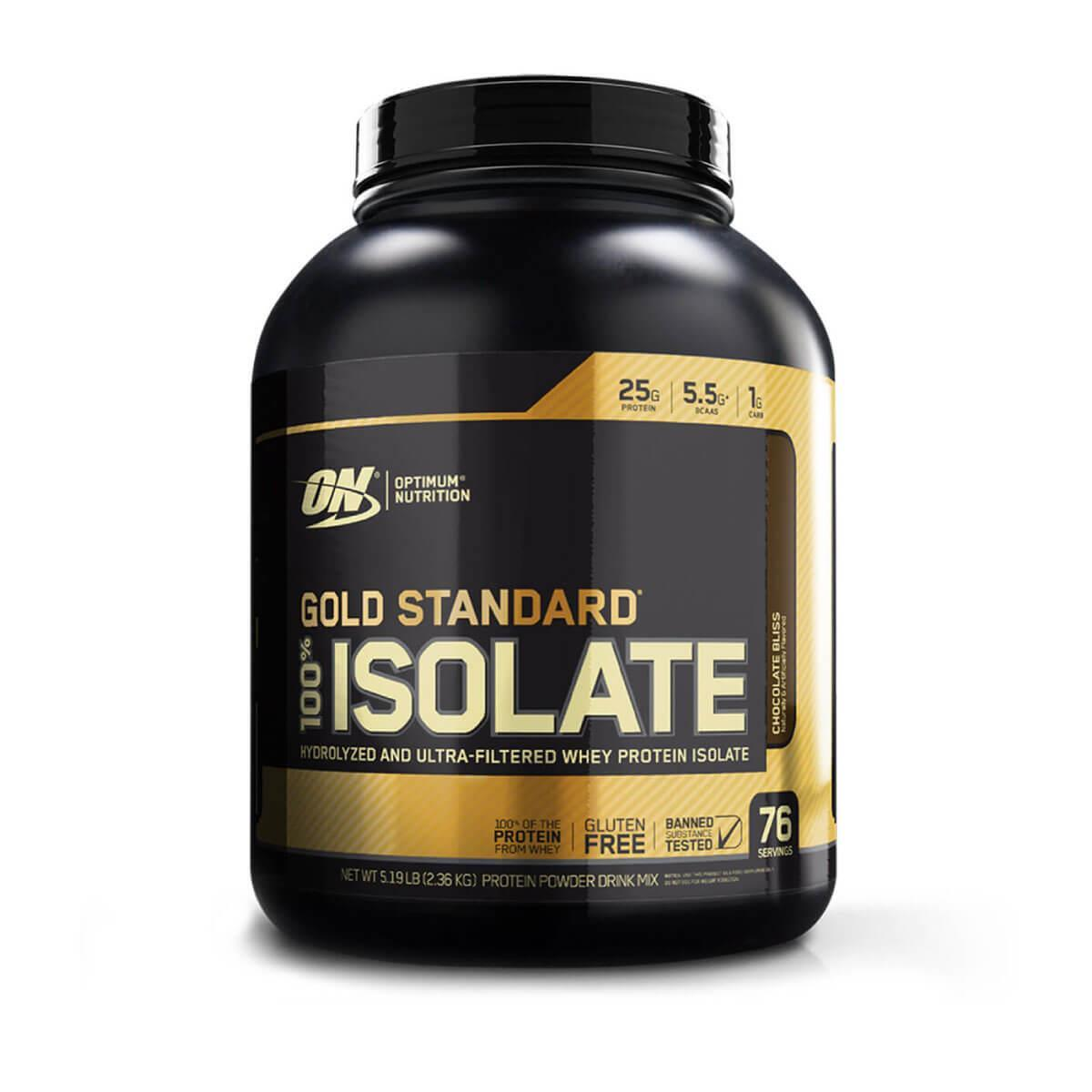 100% Whey Gold Isolate (5,2lbs/2360g) Optimum Nutrition