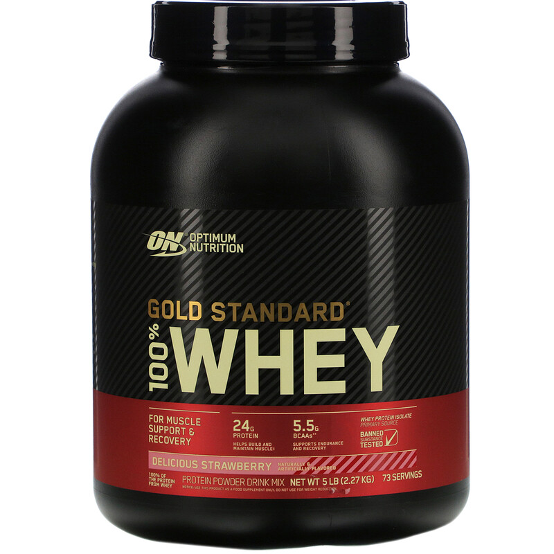 100% Whey Gold Standard (5lb/2270g) Optimum Nutrition