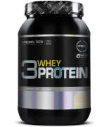 Whey Protein - 3 Whey - Pote 900g - Sabores