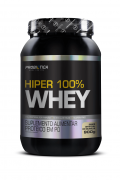 Whey Protein - Hiper 100% Whey - Pote 900g - Sabores