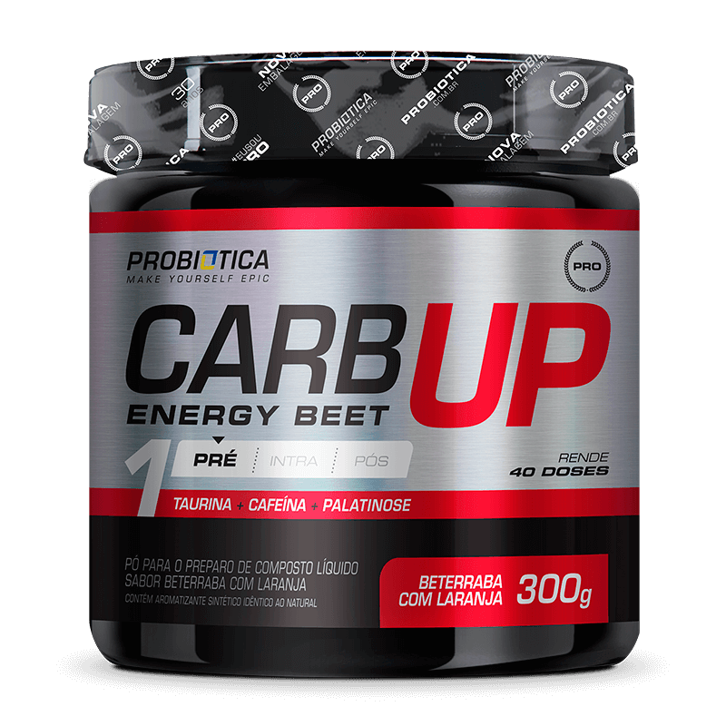 Carb Up Energy Beet - Pote 300g