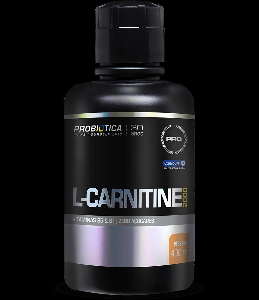L-Carnitina 2000 - Pote 400ml - Sabores