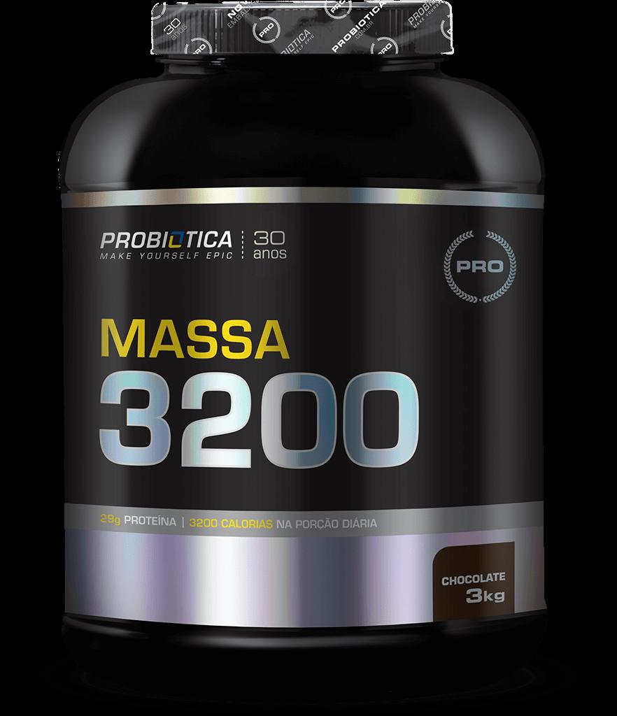 Massa 3200 - Pote 3kg - Sabores