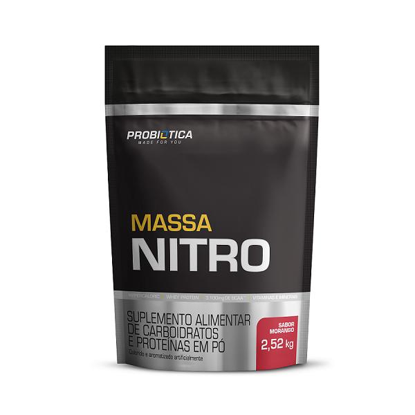 Massa Nitro - Refil 2,52kg - Sabores