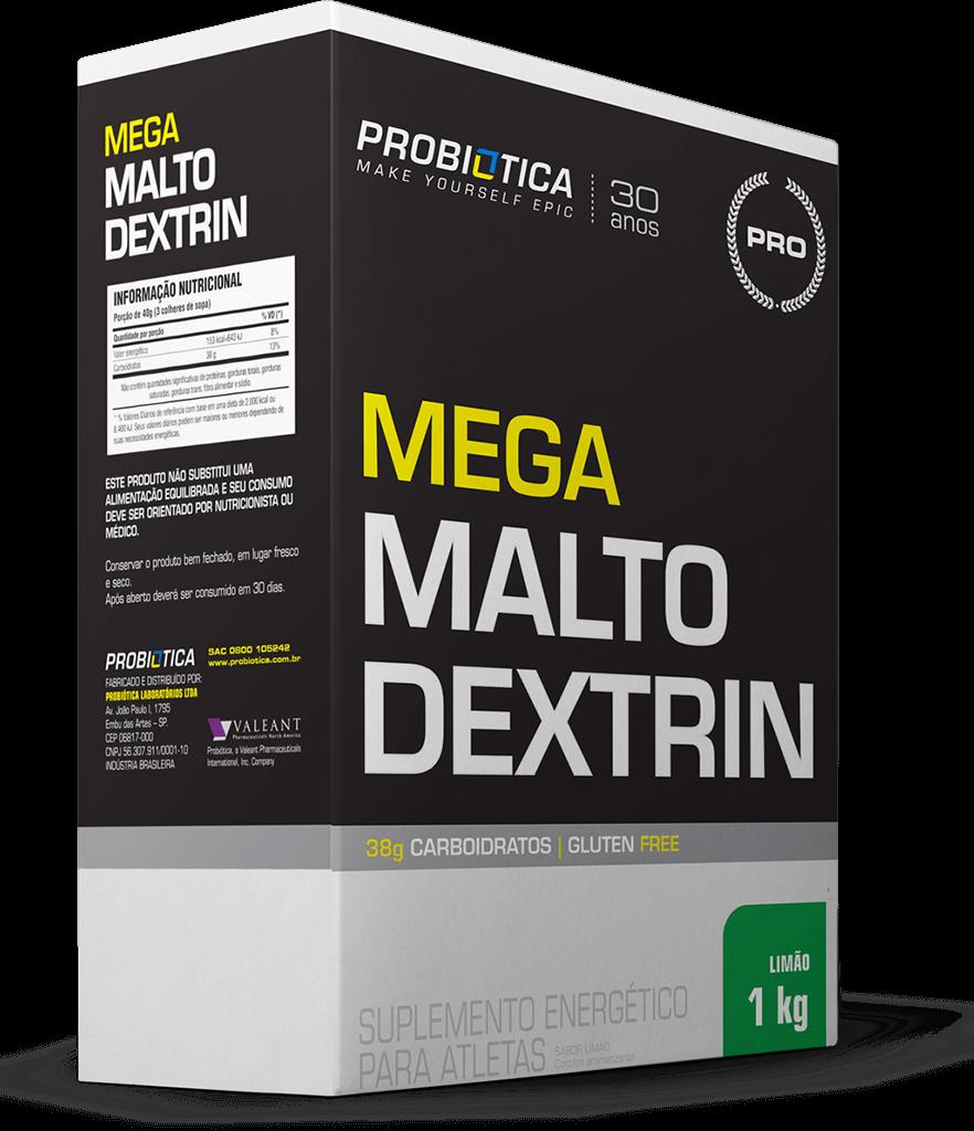 Mega Maltodextrin - Caixa 1kg - Sabores