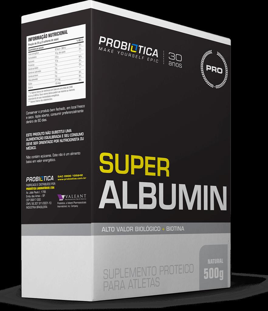 Super Albumin - Caixa 500g - Sabores