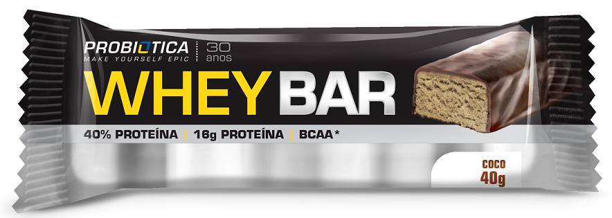 Whey Bar - 24 unidades - Sabores