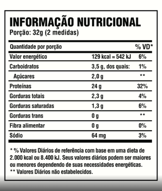 Whey Protein - 100% Pure - Pote 2kg - Sabores