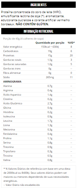 Whey Protein - Pró Max Titanium Pote 1Kg
