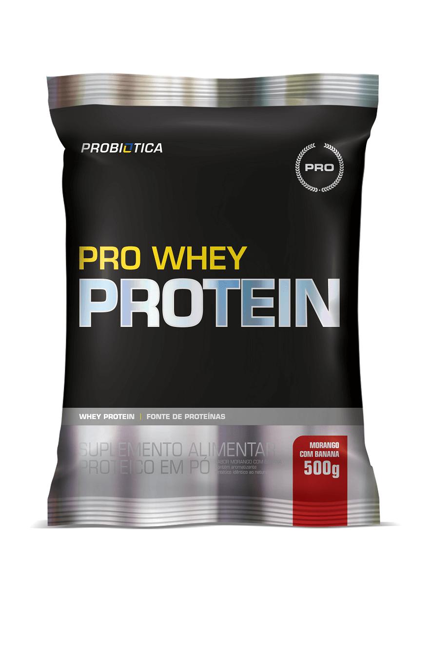 Whey Protein - Pró - Refil 500g - Sabores