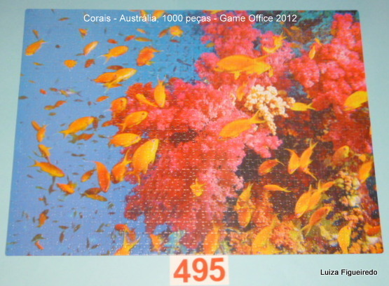 Combo - 3 Quebra-Cabeças - 1750 peças - Game Office - Canadá, Australia, Indonésia