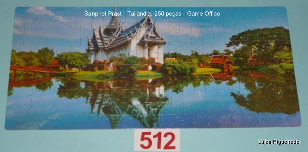Combo - 3 Quebra-Cabeças - 1750 peças - Game Office - Oriente