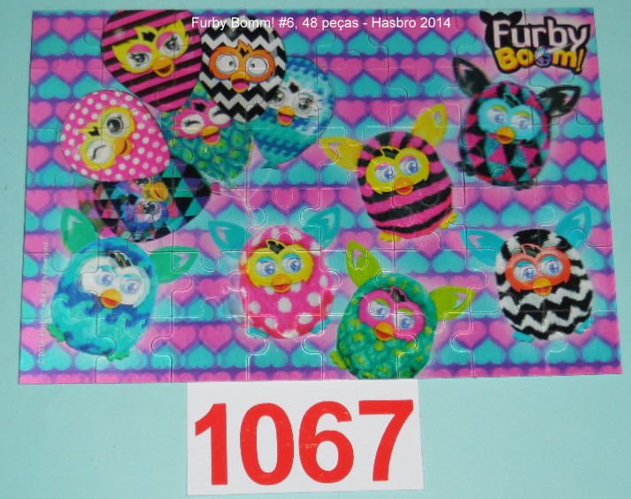 Combo 6 x 48 peças - Hasbro - Furby Boom