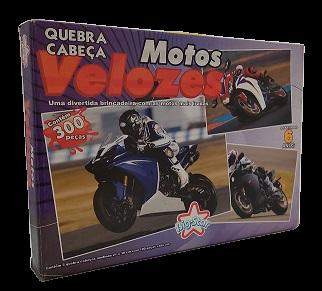 Combo - Quebra-Cabeça 300 peças - Big Star - Motos Velozes