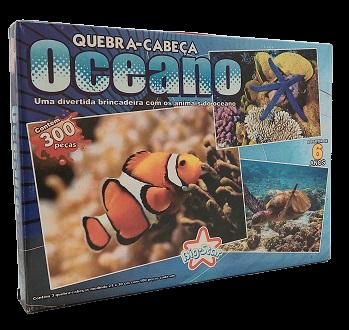 Combo - Quebra-Cabeça 300 peças - Big Star - Oceano