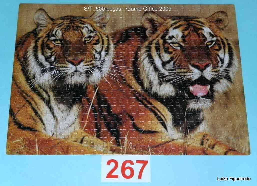 Combo Quebra-Cabeças - Game Office - 2 x 1000 2 x 500  1 x 250