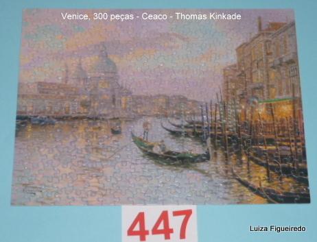 Kit 8 Quebra-Cabeças 2x100, 3x300, 3x500 peças - Thomas Kinkade Shimmer