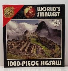 Quebra-Cabeça 1000 peças - Cheatwell Games - Machu Picchu Mini