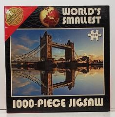 Quebra-Cabeça 1000 peças - Cheatwell Games - Tower Bridge Mini