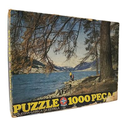Quebra-Cabeça 1000 peças - Estrela - Paisagem (caixa danificada)