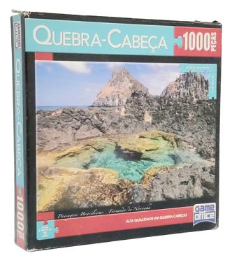 Quebra-Cabeça 1000 peças - Game Office - Fernando de Noronha