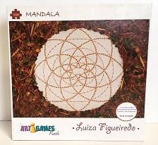 Quebra-Cabeça 1000 peças - Game Office - Mandala by Luiza  Figueiredo