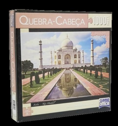 Quebra-Cabeça 1000 peças - Game Office - Taj Mahal