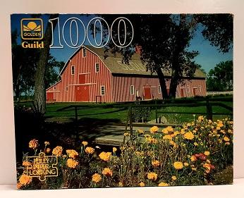 Quebra-Cabeça 1000 peças - Golden - Nebraska Ranch