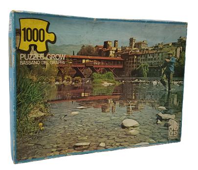 Quebra-Cabeça 1000 peças - Grow - Bassano del Grappa