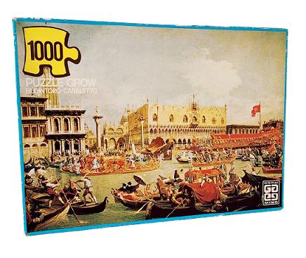 Quebra-Cabeça 1000 peças - Grow - Bucintoro, Canaletto