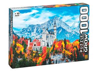 Quebra-Cabeça 1000 peças - Grow - Castelo de Neuschwanstein