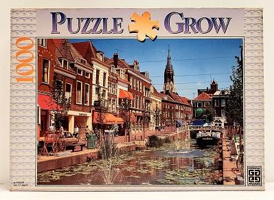 Quebra-Cabeça 1000 peças - Grow - Delft, Holanda