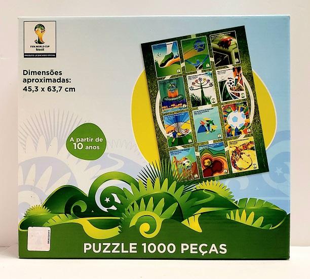 Quebra-Cabeça 1000 peças - Grow, FIFA WORLD CUP