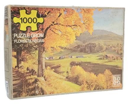 Quebra-Cabeça 1000 peças - Grow - Floresta Negra