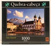 Quebra-Cabeça 1000 peças - Grow - Igreja Jesuita