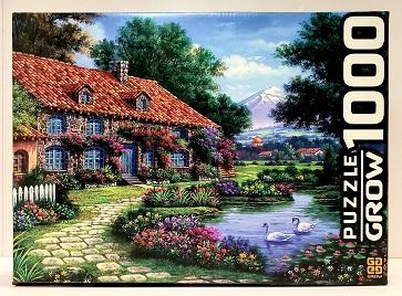 Quebra-Cabeça 1000 peças - Grow - Recanto dos Cisnes