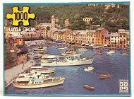 Quebra-Cabeça 1000 peças - Grow - Verão em Portofino, Italia
