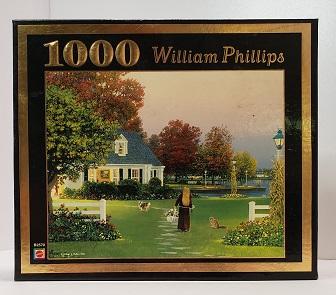 Quebra-Cabeça 1000 peças - Mattel - The Tender Cares of Autumn, William Philips