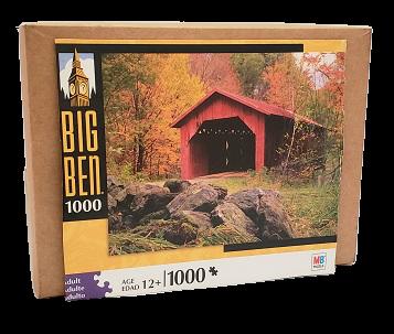 Quebra-Cabeça 1000 peças - Milton Bradley - sem Titulo, não tem a caixa original