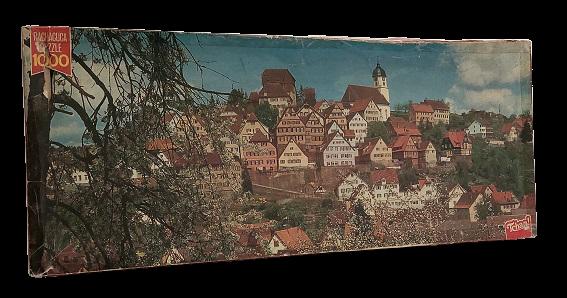 Quebra-Cabeça 1000 peças - Rachacuca - Europa Colorida Panorâmico