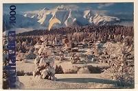 Quebra-Cabeça 1000 peças - Rachacuca - Flims no Inverno