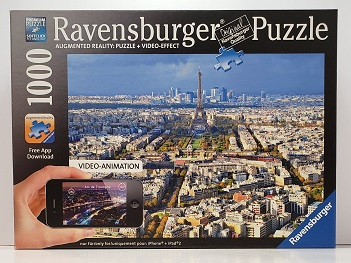 Quebra-Cabeça 1000 peças - Ravensburger - Augumented Reality