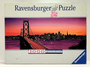 Quebra-Cabeça 1000 peças - Ravensburger - San Francisco, Oakland Bay Panoramic
