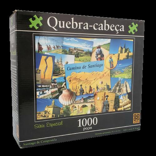 Quebra-Cabeça 1000 peças - Série Especial - Santiago de Compostela