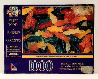 Quebra-Cabeça 1000 peças - Sure-Lox - Gummy Guppies