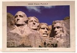 Quebra-Cabeça 1000 peças - Tomax - Mount Rushmore