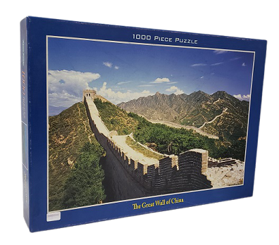 Quebra-Cabeça 1000 peças - Tomax - The Great Wall of China Glow in the Dark