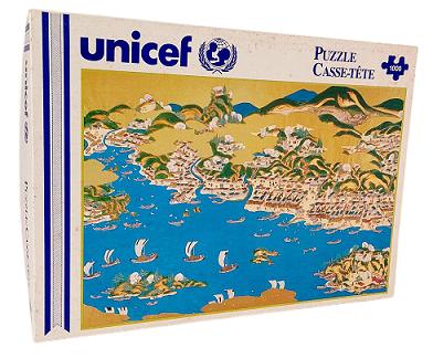 Quebra-Cabeça 1000 peças - Unicef - Port Of Matsumae-Esashi
