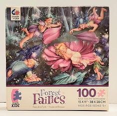 Quebra-Cabeça 100 peças - Ceaco Kids - Forest Fairies