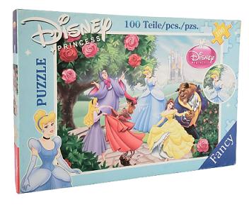 Quebra-Cabeça 100 peças - Fancy - Disney Princess